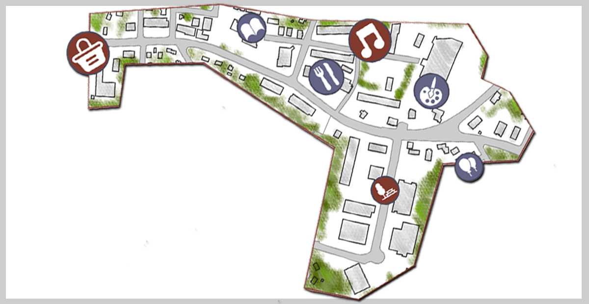 """""""Lower Town Center"""" Placemaking Playbook and Community Survey"""