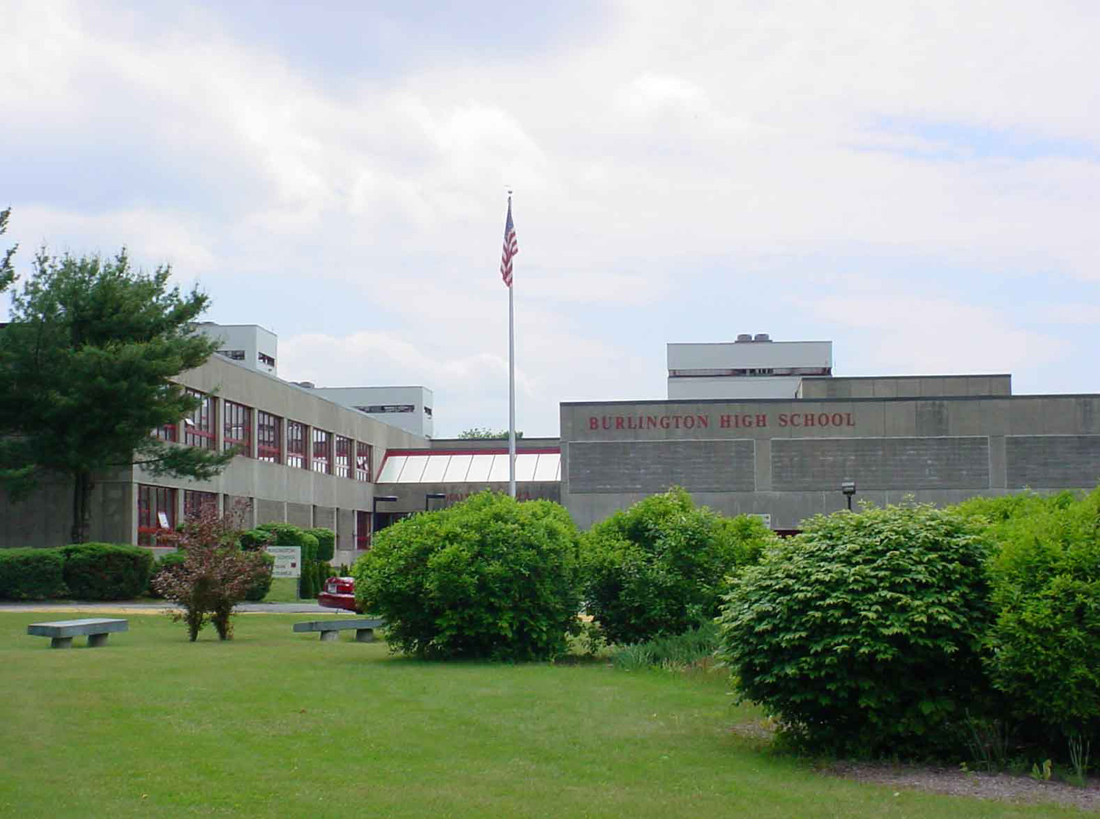 Burlington High School Going Remote This Week Due to Spike in Positive COVID Cases