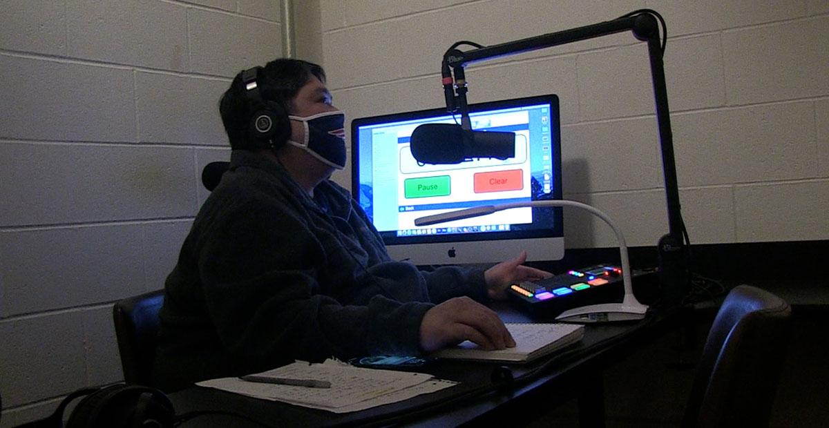 Burlington Resident Starts Production on New Podcast Show Inside BCAT Podcast Studio