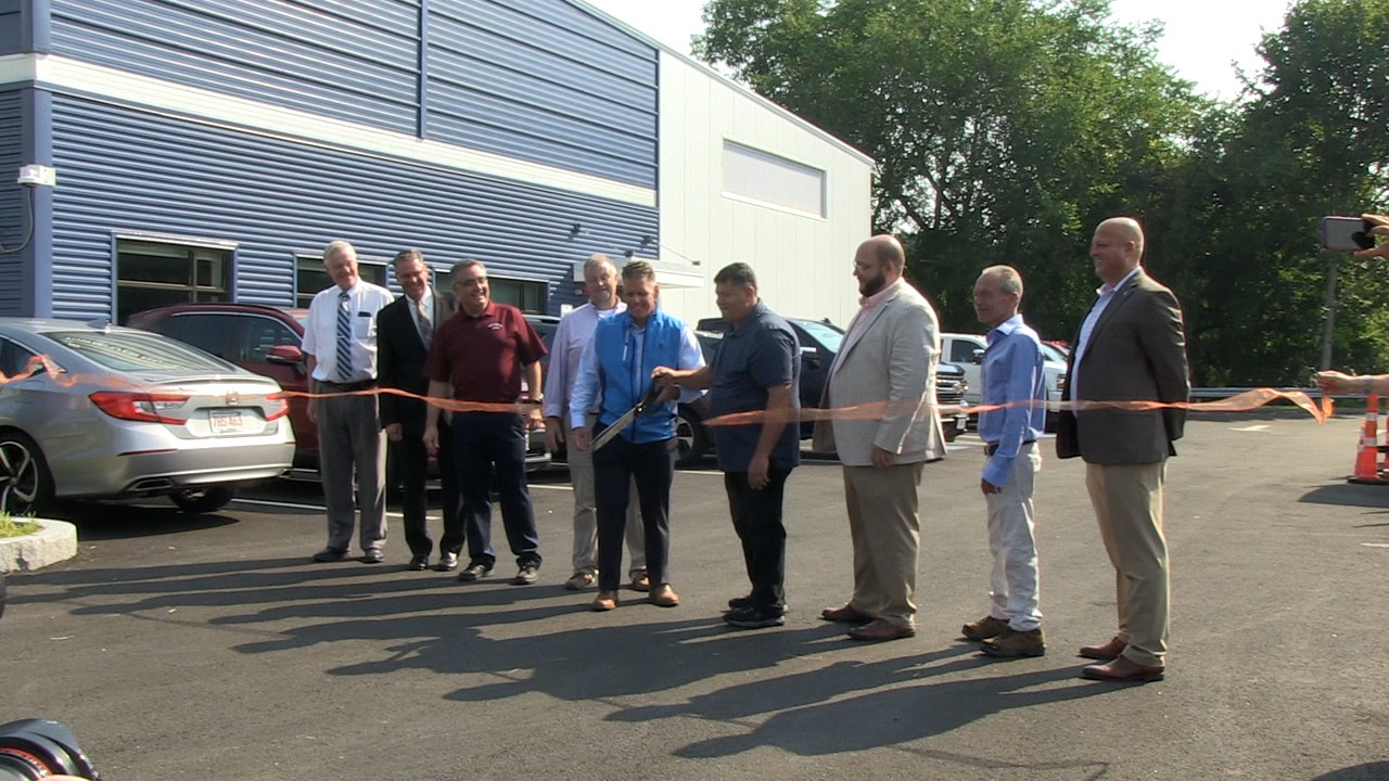 DPW and Parks & Recreation Maintenance Facility Ribbon Cutting